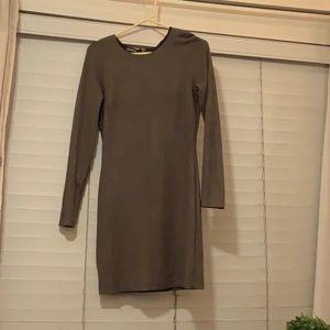 Bebe gray dress elegant/sexy